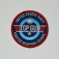 Ecusson rond TOP GUN