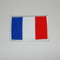Ecusson brodé FRANCE 9 cm x 6 cm