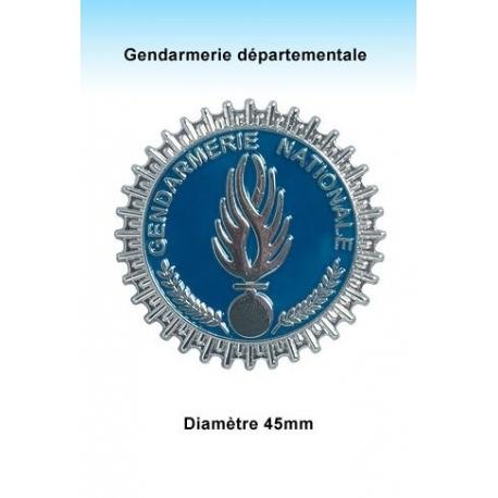 Médaille Gendarmerie Nationale argent