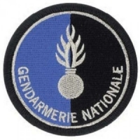 ECUSSON ROND GENDARMERIE NATIONALE