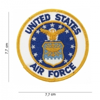 Ecusson rond US AIR FORCE