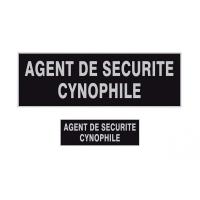 Bande rétro-réfléchissante Agent Sécurité Cynophile