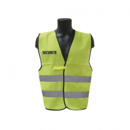 GILET FLUO SECURITE