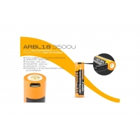 ACCU 18650 3500 mAh rechargeable USB