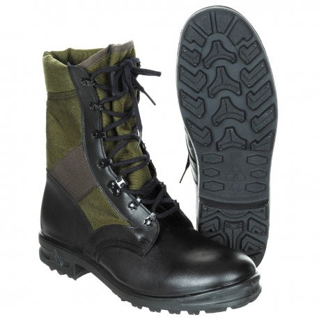 JUNGLE BOOTS BALTES KAKI/NOIR