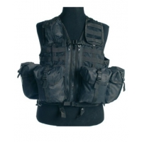 Gilet tactical modulable noir