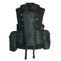 Gilet tactical noir