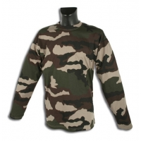 Tee-shirt manches longues camo CE