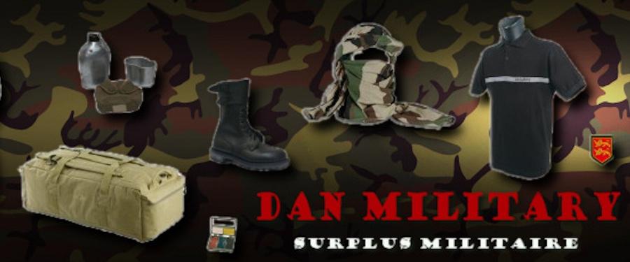 Dan Military, Surplus Militaire